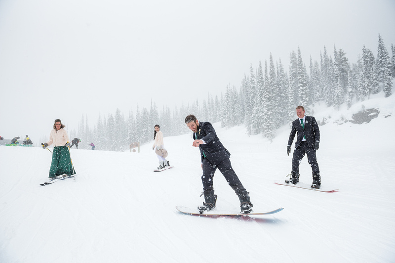 Tregoning Wedding - Revelstoke Mountain Resort